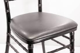Wholesale Chiavari Chairs For Sale Black Vinyl Chiavari Board Cushion Vision Furniture Chiavari Chairs