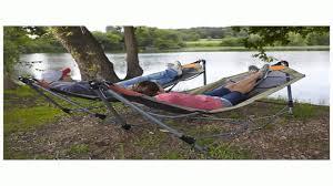 guide gear portable folding hammock youtube
