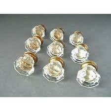 emtek crystal cabinet knobs emtek lowell crystal cabinet knob 1 3 8 86571 with glass knobs idea