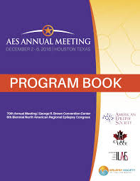 aes 2016 annual meeting program book by american epilepsy society