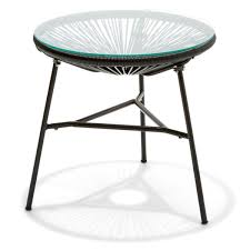 martha stewart end tables acapulco replica side table black kmart patio end tables at kmart