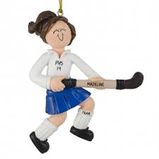 field hockey ornaments gifts personalized ornaments for you