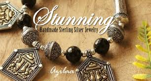 Handcrafted Sterling Silver Jewellery - amazing handmade jewelry designs in sterling silver azilaa