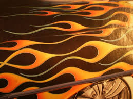 64 best flame paint jobs images on pinterest airbrush art