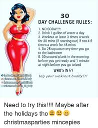 Water Challenge How To Do 30 Day Challenge 1 No Soda 2 Drink 1 Gallon Of Water A Day