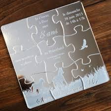 faire part mariage puzzle nos créations ou réalisations de faire parts et invitations en