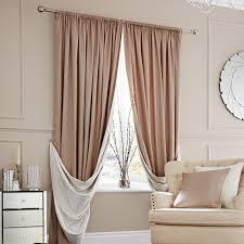 elegance natural lined slot top curtains dunelm bedroom