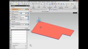 nx cad introduction to sheet metal design youtube