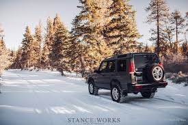 land rover snow stanceworks off road first snowfall in big bear