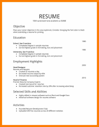 Resume Sample Janitor by 8 Simple Resume Sample Format Janitor Resume