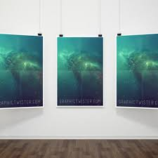 25 free psd poster mockup templates designsmag org