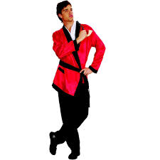 red smoking jacket playboy robe fancy dress party costume u2013 disguises