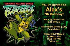 free printable templates teenage mutant ninja turtles birthday