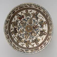 bowl with astronomical and royal figures work of art heilbrunn