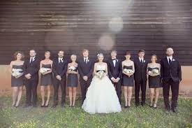 mariage et blanc un mariage blanc et noir aux notes chêtres j ai dit oui