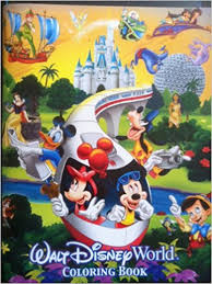 Walt Disney World Coloring Book Over 50 Pages 4 Parks 1 World Disney World Coloring Pages
