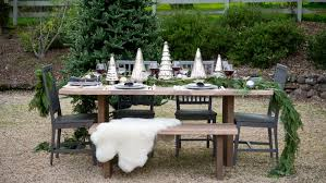 Christmas Tree Shop Outdoor Furniture Christmas Table Decoration Ideas Crate And Barrel Blog