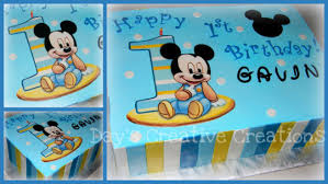 1st birthday baby mickey mouse cake by day cakesdecor