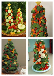 in the kitchen how to make a veggie tree about a