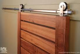 Bathroom Barn Door Kit by Sliding Barn Door Hardware
