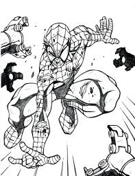 articles free printable spiderman colouring sheets tag free