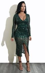 sequin dresses new fashion sequin dress v neck mid lace dresses