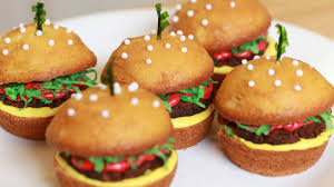 how to make cheeseburger cupcakes nerdy nummies youtube