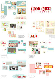 holiday photo card templates whimsy and good cheer collection