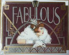 large art deco birthday card ebay