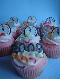 New Years Cupcake Decorating Ideas by Party Streamer Cupcake New Year U0027s Cupcakes Happy And Streamers