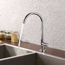 lead free kitchen faucets kes lead free kitchen sink faucet for cold water only single