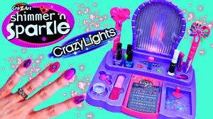 shimmer n sparkle nail salon girls real 8 in 1 nail design studio