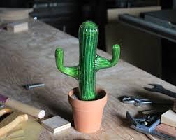 antique cactus ring holder images Cactus sculpture etsy jpg