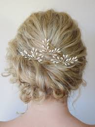 bridal hair clip wedding hair accessories bridal hair pins rice pearl hair