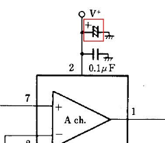 schematics what is the symbol on the supply voltage that looks