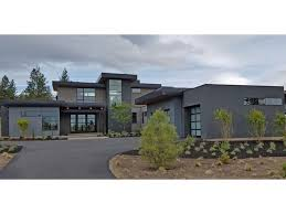 contemporary home plans with photos home plan homepw77750 3712 square 4 bedroom 3 bathroom