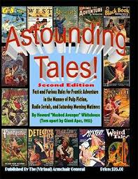 Virtual Armchair General Astounding Tales 2nd Ed Pulp Action Library Wargame Vault