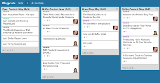 2014 planner template the complete guide to choosing a content calendar buffer trello