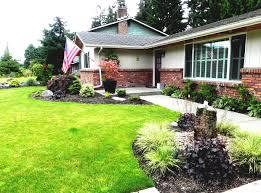 landscape modern landscape ideas for front of house backsplash