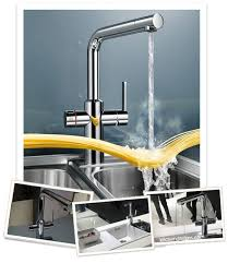 water faucets kitchen blanco s faucet technology breakthrough at living kitchen germany