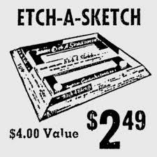 1964 etch a sketch newspaper ad