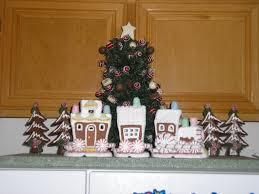 Interior Design Cool Christmas Decorations Gingerbread Theme