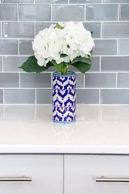 Gray Glass Subway Tile Backsplash - best 25 white quartz countertops ideas on pinterest white