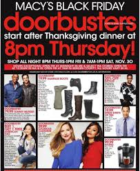 black friday macy hours black friday 2013 macy u0027s ad 19 99 boots bogo clothing over 60