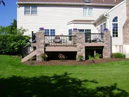 wrap around deck designs before and after photos of decks landscaping renovations and