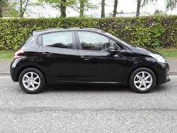 black peugeot 14 14 peugeot 208 1 2 active 5 door u2013 aitchisons garage duns