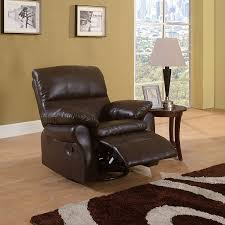 Oversized Swivel Rocker Recliner Amazon Com Classic Brown Bonded Leather Oversize Rocker And