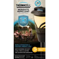 thermacell mosquito lantern torch repellent sport exercise