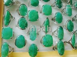 green fashion rings images 2018 hot selling fashion green gemstone jewelry rings stone ring jpg