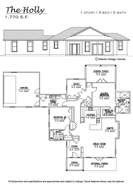 Customized Floor Plans by Floor Plans U2014 Atlantic Design Homes